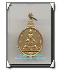 เหรียญ พระชัยหลังช้าง ด้านหลังภ.ป.ร องค์ที่ 9