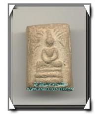 หลวงพ่อเผือก วัดกิ่งแก้ว พ.ศ.2496 ออกที่วัดใน พิมพ์ฉายแสงเนื้อผง องค์ที่ 11