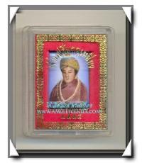 เทพเจ้าของชาวจีน เจ้าแม่ลิ้มกอเหนี่ยว ล็อกเก็ตฉากฟ้า หลังเหรียญเงิน พ.ศ.2544