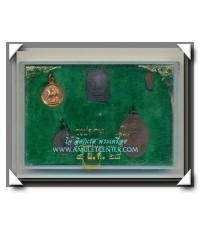 หลวงพ่อเกษม เขมโก สุสานไตรลักษณ์ ชุดชนะศึกชายแดน 5 องค์ครบชุด พ.ศ.2528 (2)