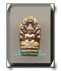 หลวงปู่สุภา วัดสีลสุภาราม ปรกมะขามรุ่นแรก เนื้อทองแดง พ.ศ.2547