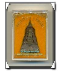 พระพุทธชินราช ภ.ป.ร. รุ่น ปฎิสังขรณ์ พิมพ์ใหญ่ เนื้อนวโลหะ วัดพระศรีรัตนมหาธาตุ พิษณุโลก พ.ศ.2534(2)