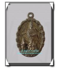 เจ้าแม่กวนอิม หลวงปู่โต๊ะ วัดประดู่ฉิมพลี นวโลหะ ออกวับซับไม้แดง สวยแชมป์ พ.ศ.2518