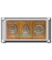เหรียญพระแก้วมรกต เนื้อเงิน ภปร.ฉลองกรุงรัตนโกสินทร์ 200 ปี ครบชุด 3 ฤดู พ.ศ.2525
