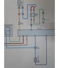 สอนการแก้ปัญหาระบบแอร์โดยใช้คอมสั่งให้คอมแอร์ทำงานและระบบพัดลมหม้อน้ำ TOYOTA VIOS ปี 2007