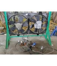 สอนวายริ่งพัดลมหม้อน้ำ NISSAN VQ20-30 ระบบการทำงานเข้ากล่องขั้ว 13 และ 14