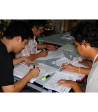 วันอาทิตย์นักเรียนมาเรียนมากเพราะมาเรียนอ่านวงจรตอนเช้าส่วนตอนบ่ายลงมือวายริ่งสายไฟ