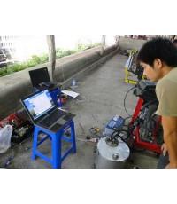 ช่างแอร์สุพรรบุรี  มาวายสายไฟ TOYOTA VIOS และใช้คอมพิวเตอร์ตรวจปัญหาที่เดินสายไฟ