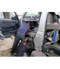 มีรถมาแก้สายไฟเป็นรถตู้มาจากกรุงเทพวางเครื่องยนต์ 1JZ-GTE VVTI ปี 1997