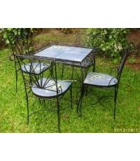 โต๊ะ,เก้าอี้  เหล็กดัด