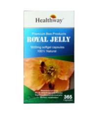 Healthway Royal Jelly 1600 mg โดสสูงสุดสูตรพรีเมี่ยม ขนาด 365 เม็ด