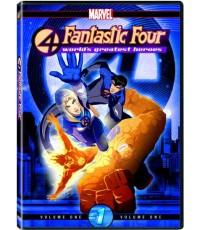 Fantastic 4 (แฟนตาสติคโฟร์ สี่พลังคนกายสิทธิ์) 3 แผ่นจบ (พากษ์ไทย)