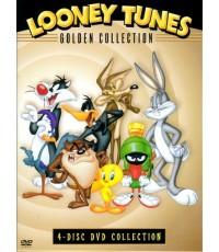 Looney Tunes Golden Collection 1 ลูนีย์ ทูนส์ รวมฮิตชุดพิเศษ ชุดที่ 1 / 4 แผ่นจบ (พากษ์ไทย)