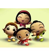 4 Angies สี่สาวแสนซน เทอม 1 / 2 แผ่นจบ (พากษ์ไทย)