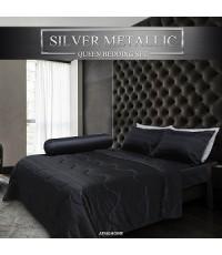 ชุดเครื่องนอน  Silver Metallic