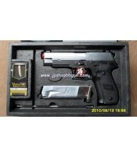 ปืนบีบีกัน Tokyo Marui SIG Sauer P226 2Tone Rail Frame Black จากญี่ปุ่น