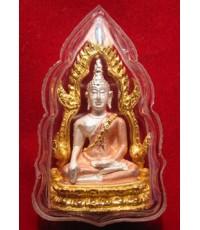 พระพุทธชินราช เนื้อเงิน ปัด 3 กษัตริย์ บริษัท แพรนด้าจิวเวอร์รี่ ปี 2540