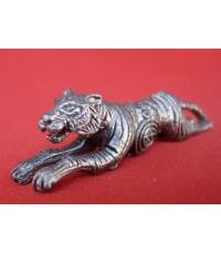 เสือเจ้าสัวพิทักษ์ทรัพย์ หลวงปู่แย้มวัดตะเคียน เนื้อชินตะกั่ว คงกระพันกับเมตตารวมกันแถมมีประสพการณ์