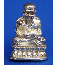 พระเครื่อง หลวงพ่อทวด  เนื้อนิเกิ้ล เงาแวววาวสวยมาก อธิษฐานจิตโดยหลวงพ่อแดง วัดไร่ ปี 2550