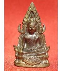 พระพุทธชินราชหล่อ รุ่นธรรมปิฎก๖๐ เนื้อทองผสม วัดสุทัศปี 2534 สวยน่าบูชามากครับ