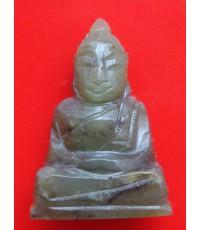 พระหินหยกแกะ พิมพ์พระพุทธ วัดธรรมมงคล สร้างโดยพระอาจารย์วิริยังค์ ปี 2536 สวยหายาก
