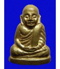 รูปเหมือนปั๊มหลวงพ่อเงิน บางคลาน รุ่น๙๙ ดาวตรีคูณ วัดท้ายน้ำ  ปี 2529 พระสวยองค์เล็กสุดงาม พิธีใหญ่