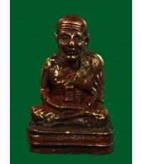รูปหล่อหลวงปู่ทวด พิมพ์เบตง รุ่นแรก พ่อท่านเขียว เนื้อนวโลหะ ผิวสวยเห็นยาขัด ปี 2552 หมายเลขสวย 31