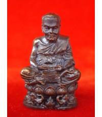 สวยมาก รูปหล่ออุดกริ่งหลวงปู่ทวด รุ่นกลันตัน 54 เนื้อทองแดงรมมันปู หลวงพ่อเขียว ปี 2554