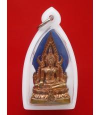 พระกริ่งชินราชอินโดจีน ญสส. เนื้อทองดอกบวบ ปี 2543 พระเครื่องพิธีใหญ่ สุดสวย หายาก