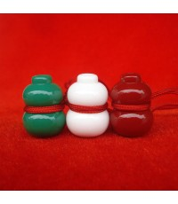 น้ำเต้าหลวงพ่อสด วัดปากน้ำ ชุด 3 สี รุ่น 100 ปี ภาพสี บูชาไว้เพื่อดูดทรัพย์ดีมาก