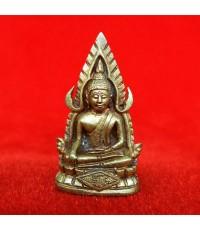 พระพุทธชินราชหล่อ รุ่นธรรมปิฎก๖๐ เนื้อทองผสมหล่อโบราณ วัดสุทัศ ปี 2534 สวยน่าบูชามาก