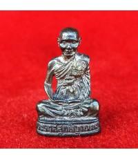 รูปหล่ออุดกริ่ง พิมพ์ใหญ่ เนื้อนวโลหะ หลวงพ่อจรัญ วัดอัมพวัน สิงห์บุรี ปี 2540 ของดีที่ต้องบูชา