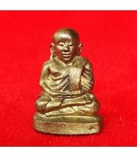 รูปหล่อหลวงพ่อเงิน วัดบางคลาน รุ่นโชติบารมี เนื้อทองฝาบาตร ถวายพระเกียรติสมเด็จพระสังฆราช ปี 2537