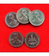 สภาพ UNC สุดยอดนิยม 5 เหรียญกษาปณ์ ที่ระลึก ในหลวง รัชกาลที่ 9 พระราชพิธีกาญจนาภิเษก ปี 2539