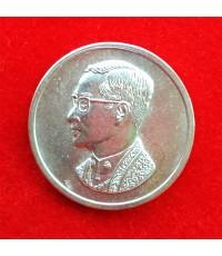 เหรียญคุ้มเกล้า เนื้อเงิน สร้างโรงพยาบาลภูมิพลฯ พิธีใหญ่กองทัพอากาศสร้าง ปี 2522 นิยมมาก 45