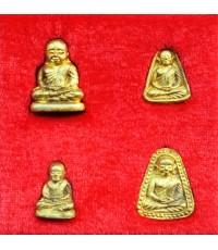 พระชุด หลวงพ่อเงิน บางคลาน รุ่นพระธรรมปิฎก ๖๑ เนื้อทองชนวน ปี 2535 สวยคุ้มค่าและหายาก