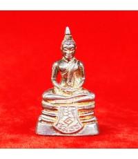 สวยที่สุด พระพุทธโสธร ลอยองค์ กรมศุลกากรครบรอบ 120 ปี เนื้อเงิน สวยมาก พร้อมกล่องเดิม ปี 2537