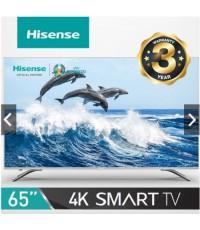Hisense รุ่น 65A6501UW Smart TV 4K ขนาด 65 นิ้ว