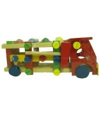 ของเล่นไม้ ชุดเครื่องมือช่างประกอบรถบรรทุก