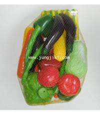 ชุดผักจำลองพลาสติก