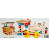 ของเล่นไม้ ชุดประกอบรถไฟและรถก่อสร้างอื่นๆ