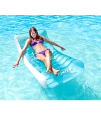 เตียงนอนเป่าลอยน้ำ Intex Luxury Pool Bed