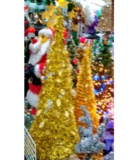 ต้นคริสมาสต์สีทอง สูง 150 เซนติเมตร