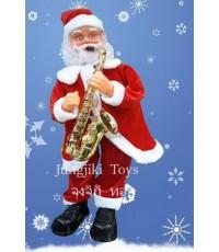 ซานตาครอสไฟฟ้า ขนาดใหญ่สูง 80 cm  เต้นโค้งคำนับ