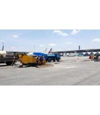 งานเจาะวางท่อลอดRunway  สนามบิน สุวรรณภูมิ