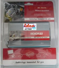 12 VDC TO 220 VAC 100W POWER INVERTER
