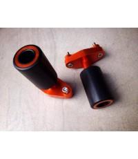 กันล้มสไรเดอร์สีใหม่สีส้ม FOR KTM DUKE 200/390