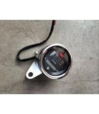 วัดรอบไฟฟ้า Digital + วัดระดับน้ำมันเชื้อเพลิงในถัง