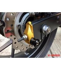 ชุดหางปลาตั้งโซ่แบบมีน็อตยกแสตนในตัว CNC Racing For Honda CBR500R F X
