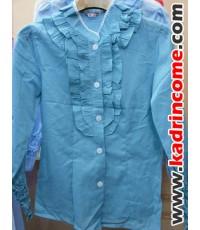 เสื้อเชิ้ตผู้หญิงแขนยาว ชุดทำงานผู้หญิง เชียงใหม่ D20W015